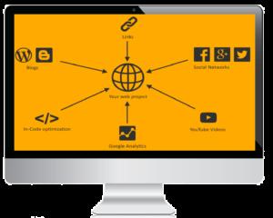 Suchmaschinenoptimierung, Webdesign, SEO, Gestaltung von Webseiten